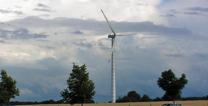 Windkraftanlage in der Nachbarschaft